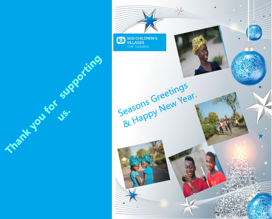 SOS Children's Villages The Gambia wishes all her sponsors, donors and well-wishers a Happy and  Joyous New Year