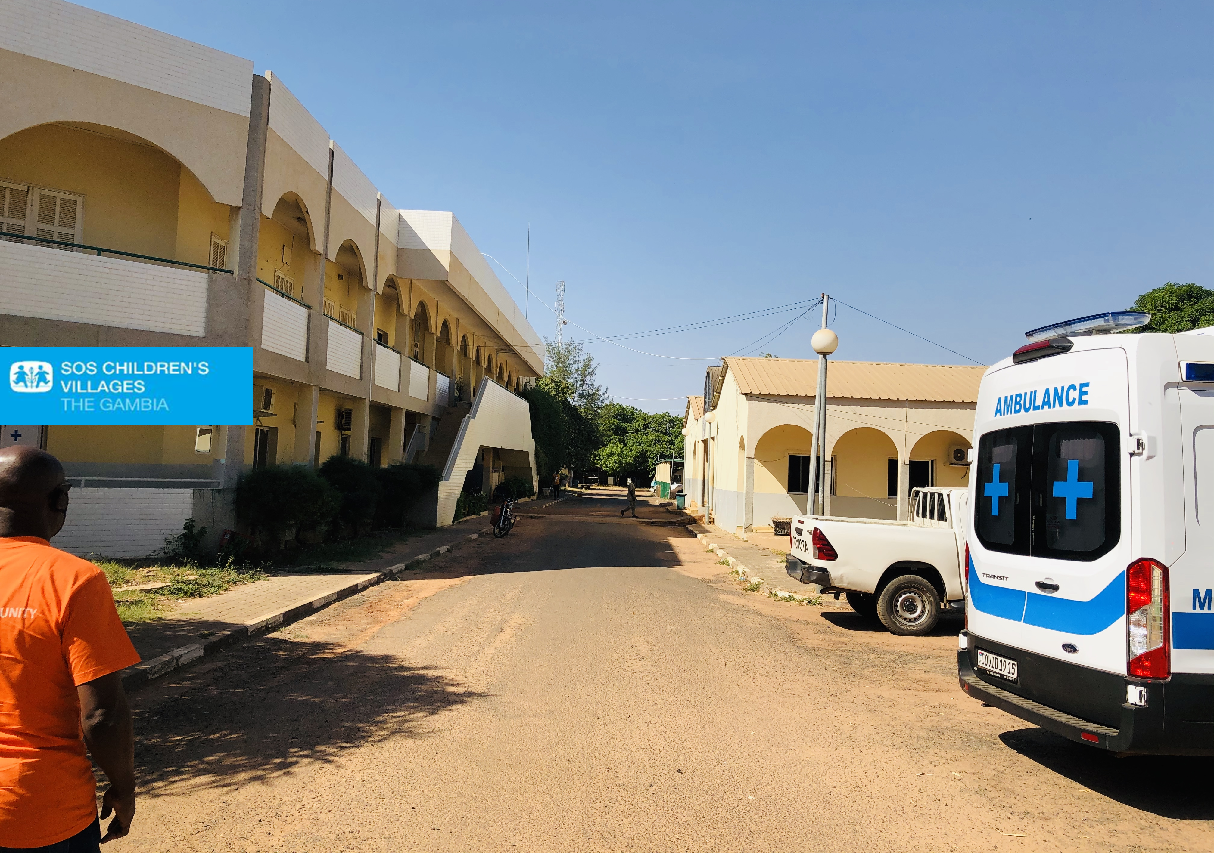 SOS Children's Villages The Gambia's Women Empowerment For  Change  Project – Farafenni Hand Over COVID-19 Medical Items to Farafenni General Hospital