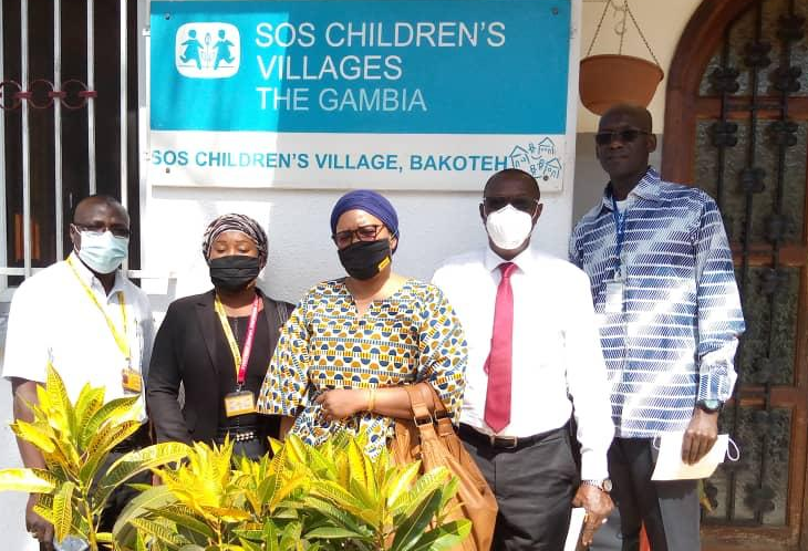 DHL – GAMBIA DONATES TO SOS CHILDREN'S VILLAGES